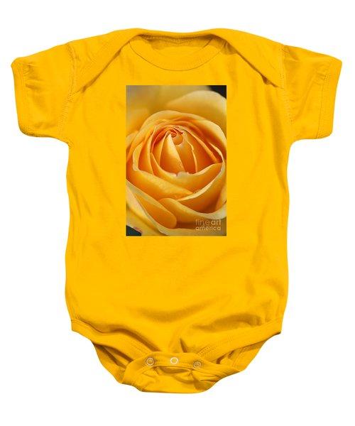 The Yellow Rose Baby Onesie