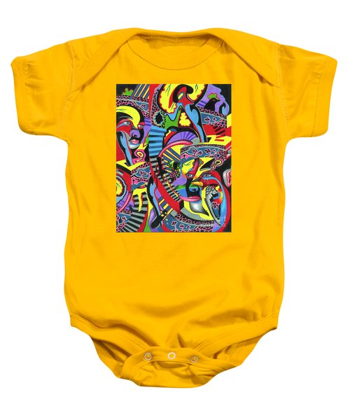 Three Disguises Of An Abstract Thought Baby Onesie