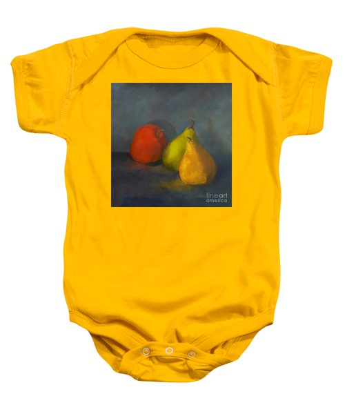 Three's A Crowd Baby Onesie