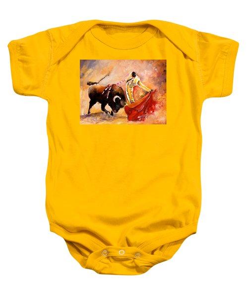 Toro Acuarela Baby Onesie
