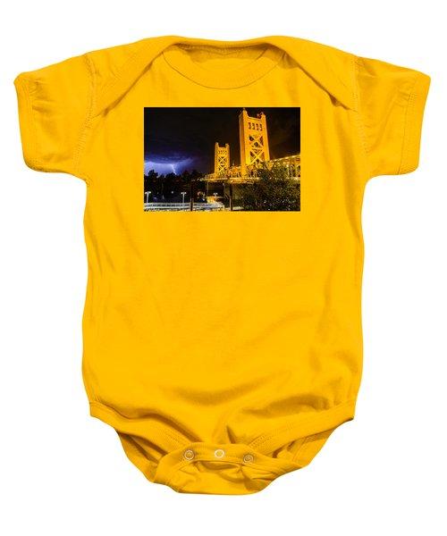 Tower Bridge Baby Onesie