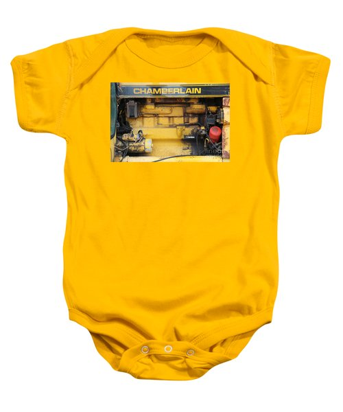 Baby Onesie featuring the photograph Tractor Engine Iv by Stephen Mitchell