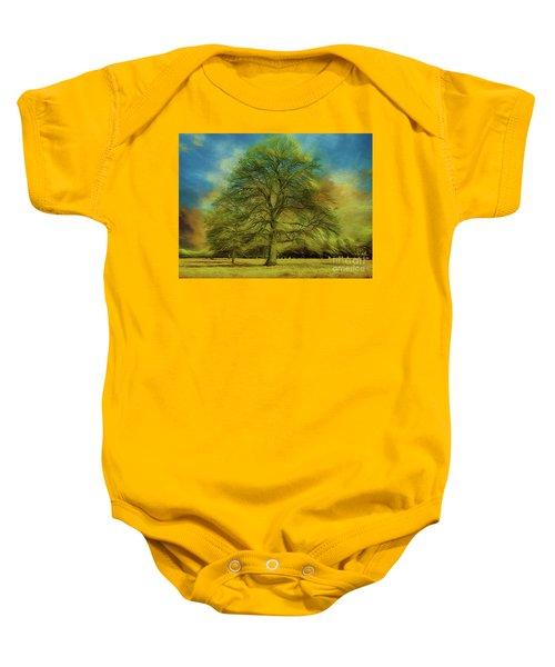 Tree Three Baby Onesie