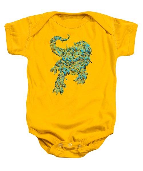 Triceratrippin 2 Baby Onesie