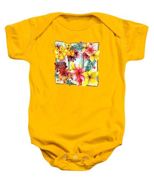 Tropicana By Kaye Menner Baby Onesie by Kaye Menner