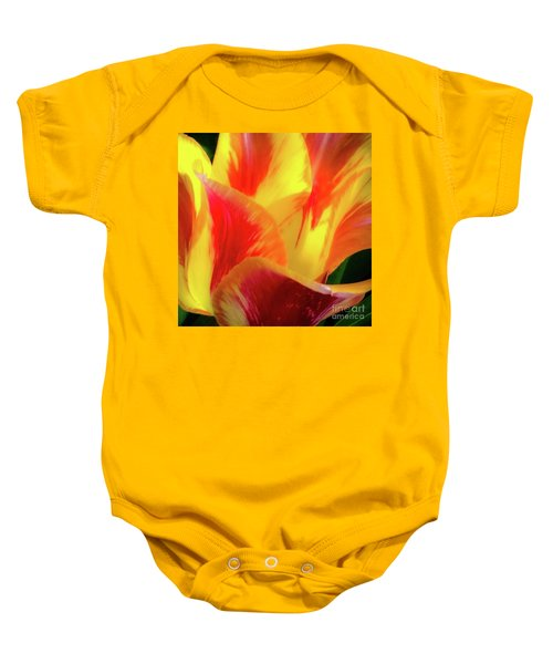 Tulip In Bloom Baby Onesie
