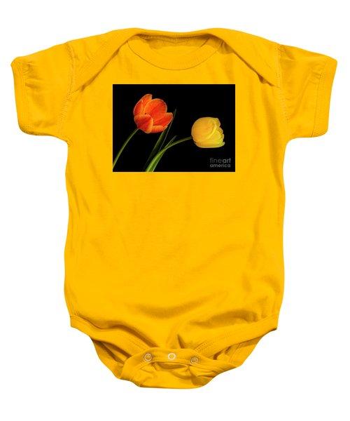 Tulip Pair Baby Onesie
