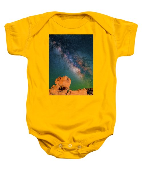 Turtles All The Way Down Baby Onesie