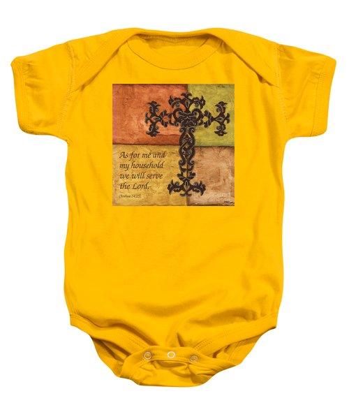 Tuscan Cross Baby Onesie