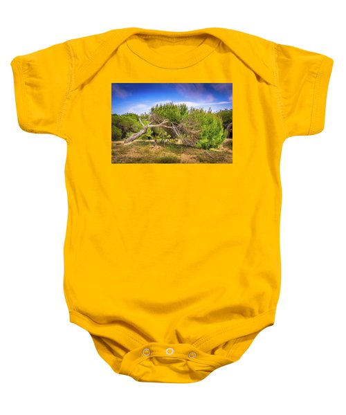 Twisted Tree Baby Onesie