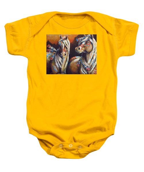 Two Coins Baby Onesie