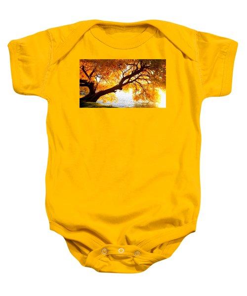 Under The Yellow Tree Baby Onesie