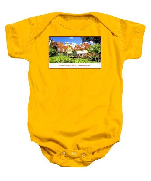 United Kingdom Buildings, Epcot, Walt Disney World Baby Onesie
