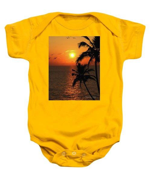 Unknown Paradise Baby Onesie
