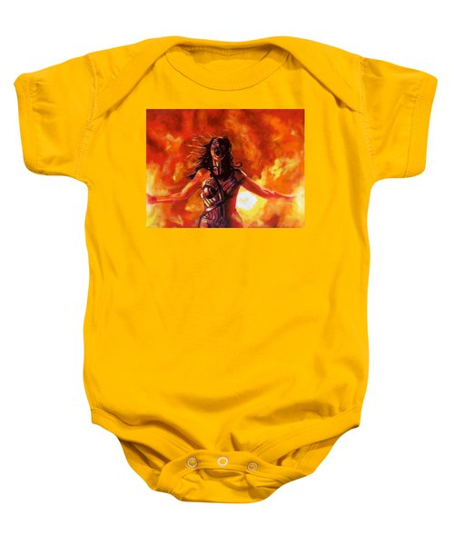 Unleashed Baby Onesie