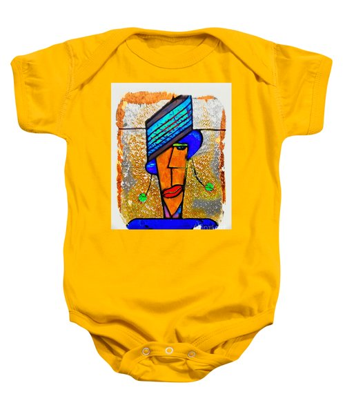 Lucy Brown Baby Onesie