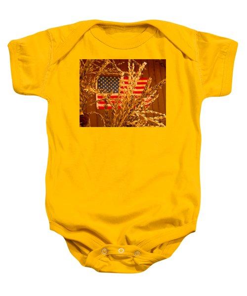 U.s. Wheat Baby Onesie