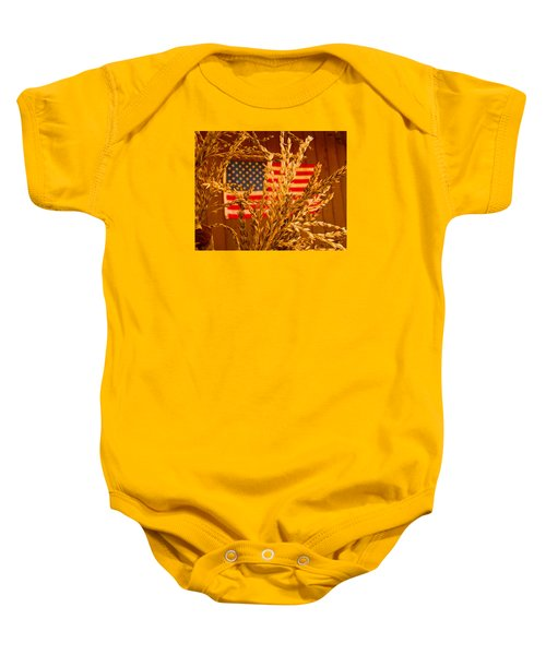 U.s. Wheat Baby Onesie