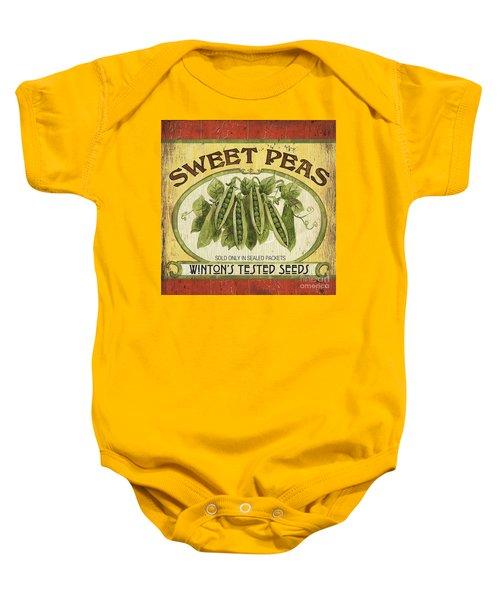 Veggie Seed Pack 1 Baby Onesie