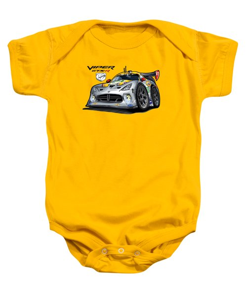 Viper Gts-r Car-toon Baby Onesie