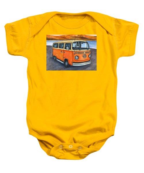Ryan's Magic Bus Baby Onesie