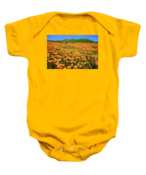 Walker Canyon Wildflowers Baby Onesie
