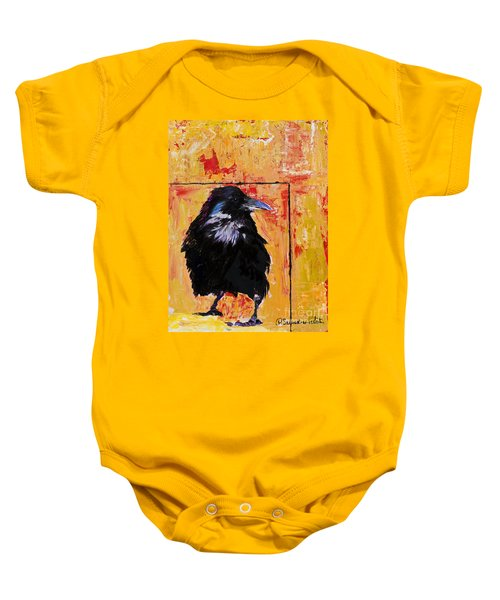 Watch And Learn Baby Onesie
