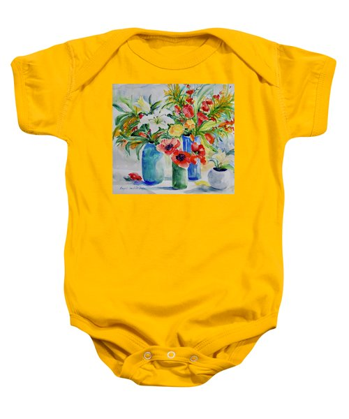 Watercolor Series No. 256 Baby Onesie