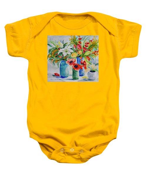 Watercolor Series No. 256 Baby Onesie