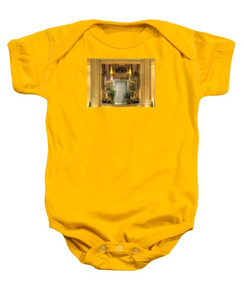 Waterfall View And Hues Baby Onesie