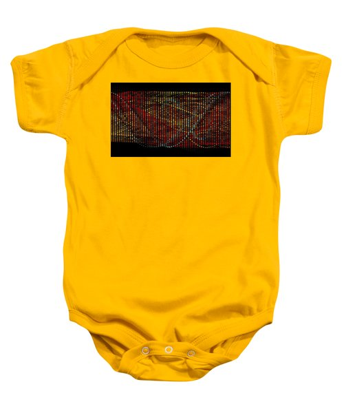 Abstract Visuals - Wavelengths Baby Onesie