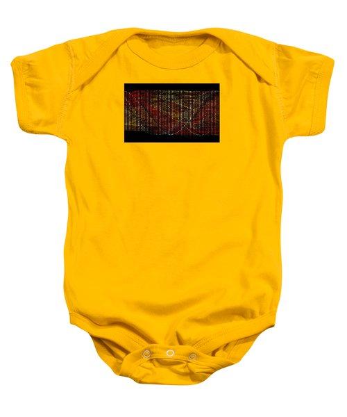 Abstract Visuals - Wavelengths Baby Onesie