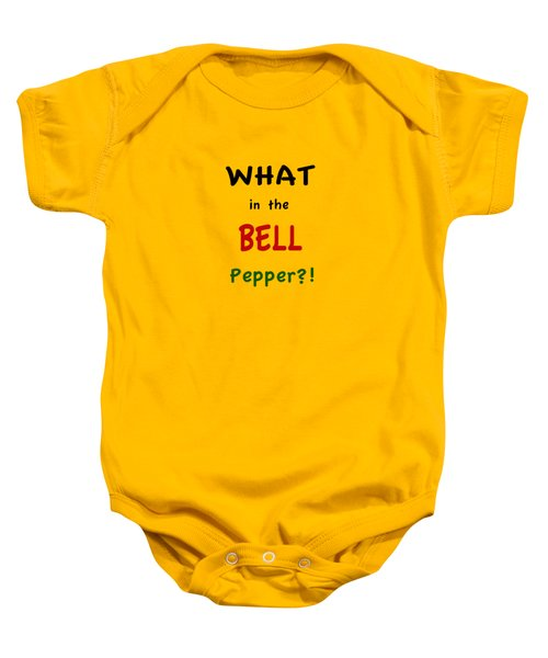 What In The Bell Pepper? Baby Onesie