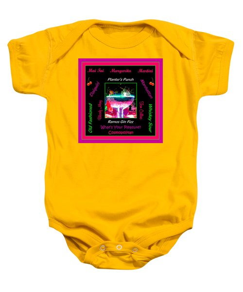 What's Your Pleasure Baby Onesie by Marian Bell