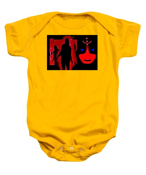 Who  Goes  There ? Baby Onesie