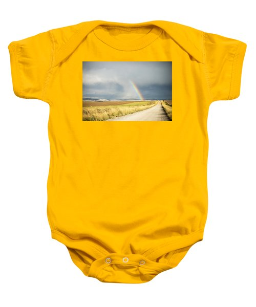 Wide Open Spaces Baby Onesie