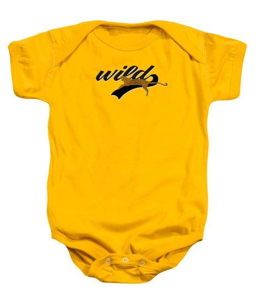 Wild Baby Onesie by Priscilla Wolfe
