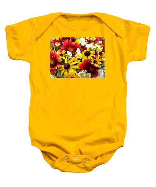 Wildflower Riot Baby Onesie