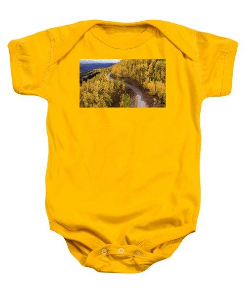Winding Through Fall Baby Onesie