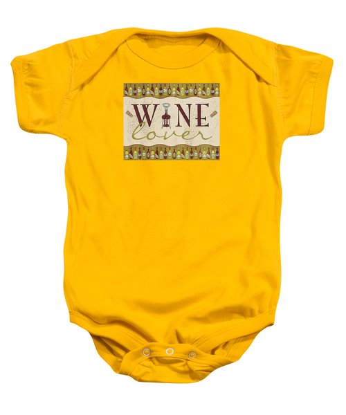Wine Lover Baby Onesie