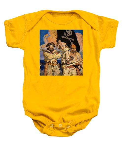 Wyeth: Treasure Island Baby Onesie