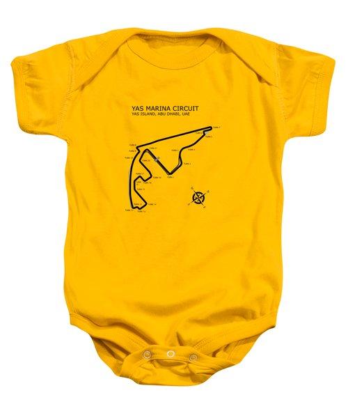 Yas Marina Circuit Baby Onesie