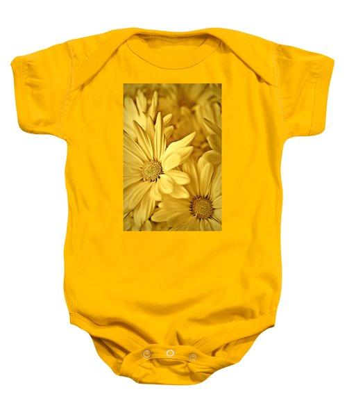 Yellow Daisies Baby Onesie
