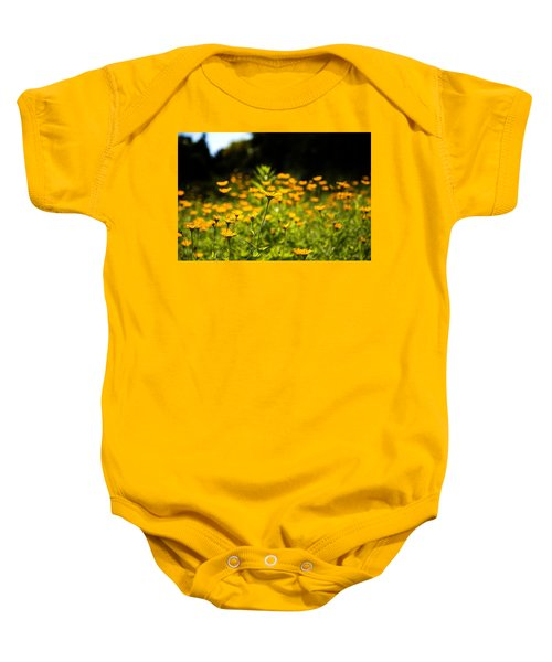 Yellow Field Baby Onesie