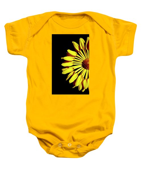 Yellow Petals Baby Onesie
