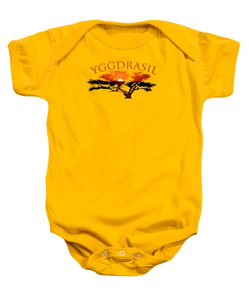 Yggdrasil- The World Tree Baby Onesie