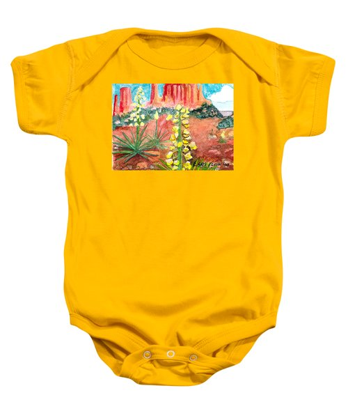 Yucca In Monument Valley Baby Onesie