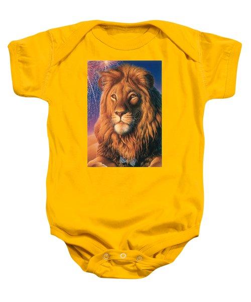 Zoofari Poster The Lion Baby Onesie