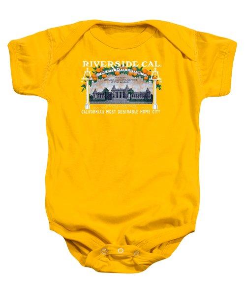 1914 Riverside California Baby Onesie