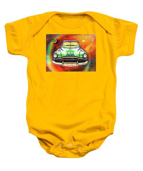 1949  Buick Headon Baby Onesie